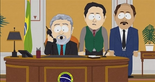Lula no South Park