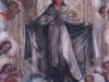 Teto, Virgem das Mercês, circundada por anjos e santos.