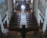 Santuário da Santíssima Trindade - nave vista por detrás do altar